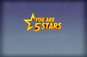 You are 5 stars (online Hospitality Competition)