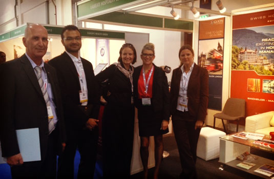 Les Roches was present at the 2013 Arabian Travel Market