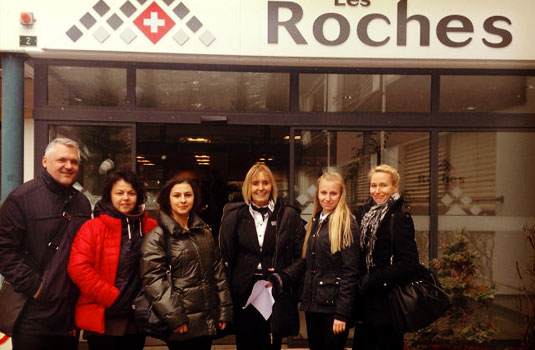 For the third follow me program, Les Roches hosted prospective students from Romania and Finland.