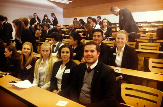Following this class, the students attended the Swissôtel company presentation along with Kevin, Sonia and