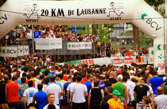 20 KM of Lausanne