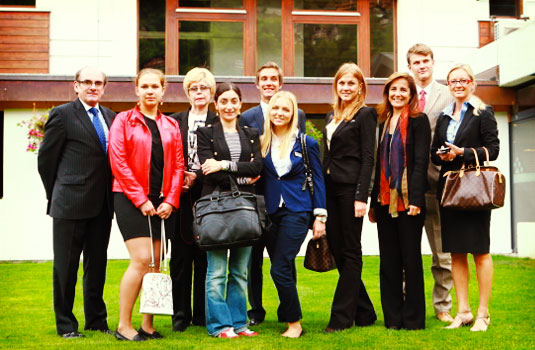 Russian and Georgian media visit Les Roches International School of Hotel Management
